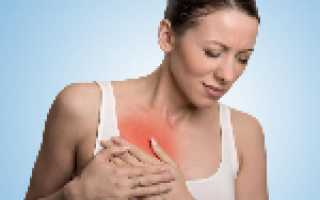 Боли в правой стороне груди
