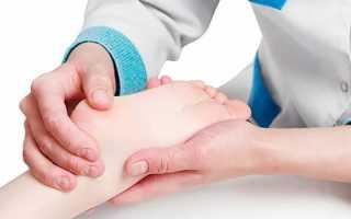 Онемение правой пятки ноги