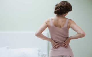 Болит поясница при простуде