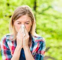 Аллергический ринит температура