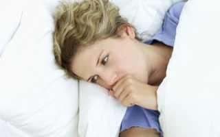Сухой кашель по ночам у взрослого причины