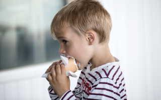 После мороженого у ребенка болит горло
