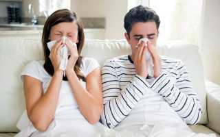 Сколько человек заразен при орви и гриппе