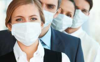 Свиной грипп болит горло