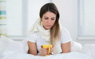 Насморк кашель горло без температуры