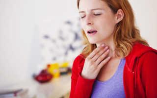 Ночной приступ кашля