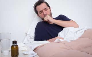 Лекарство при влажном кашле
