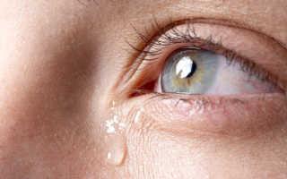Глаза слезятся при простуде лечение