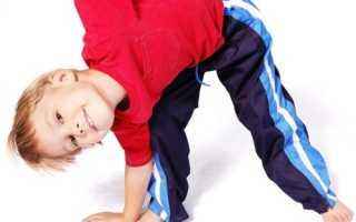 Лечебная гимнастика для детей при нарушении осанки