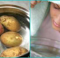 Как правильно делать ингаляцию над картошкой
