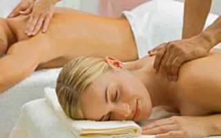 Полезен ли массаж спины
