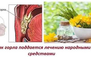 Лечение рака горла в домашних условиях