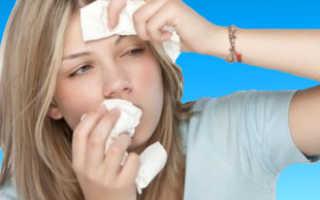 Лекарство при насморке и кашле
