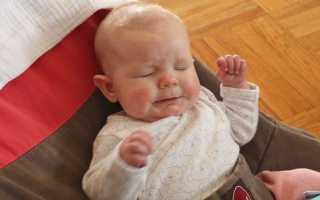 Сопли после манту у ребенка