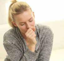 Сухой изнуряющий кашель