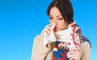 Температура при заложенности носа
