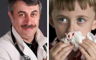 Кровь из носа у ребенка постоянно