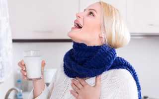 Как часто можно полоскать горло содой