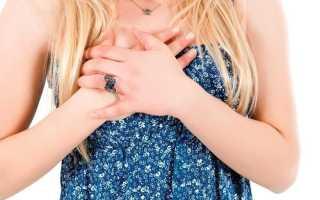 Боль в грудине посередине при беременности