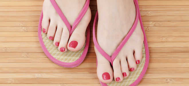 От чего бывает грибок ногтей на ногах