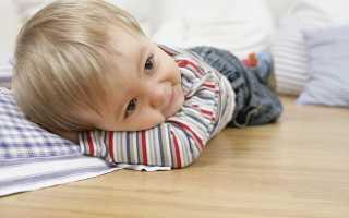 Ребенок постоянно поднимает ноги