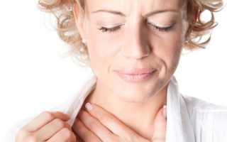 Сухость в горле и боль причины