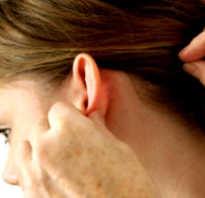 Болит шишка возле уха