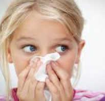 Вазомоторный ринит у ребенка симптомы