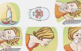 Физраствор состав для промывания носа