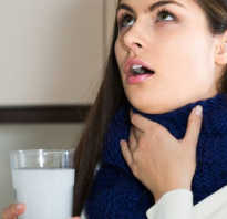 Соль сода при ангине