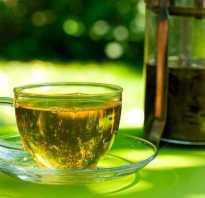 Действие зеленого чая
