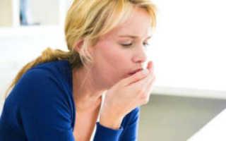 Что делать если кашель до рвоты