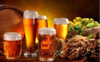 Теплое пиво для горла