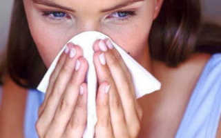 Раствор с солью для промывания носа