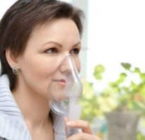 Ингаляции с физраствором от кашля