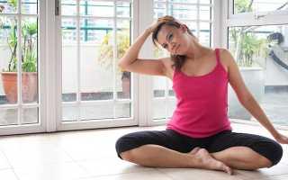 Упражнения при нестабильности шейных позвонков