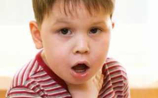 Рвота при ангине у детей