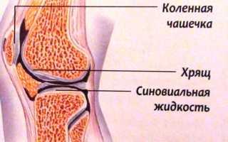 Синовиальная жидкость колена
