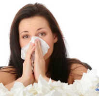 Точки от насморка и простуды