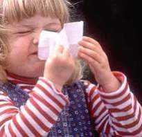 Средства при аллергическом рините