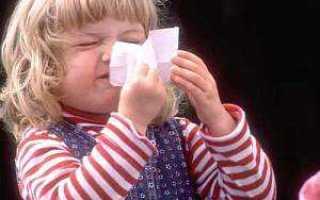 Лекарство от аллергического насморка