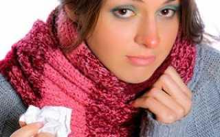 Воспаление внутри кончика носа