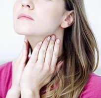 Как вылечить першение в горле