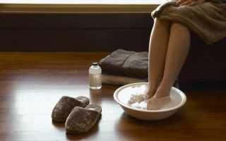 Чем полезно парить ноги