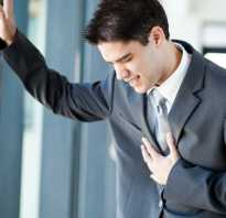 Боли в груди у мужчин